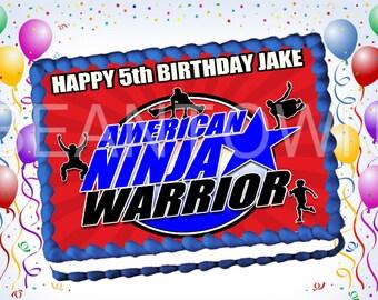 American Ninja Warrior Etsy