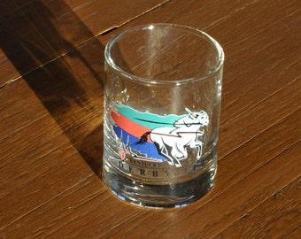 1993 119th Kentucky Derby Horse Race Collectible Shot Glass - Louisville, Kentucky Horse Racing Track