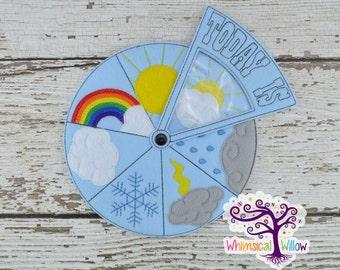 Weather Educational Wheel