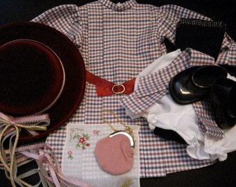 American Girl Pleasant Company Samantha's Official Meet Outfit Plus Extras...1st Version, 1st Release...Minty Vintage Condition...Retired