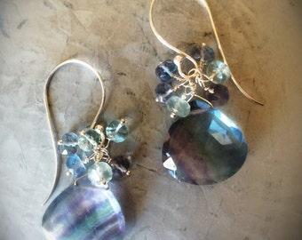 Breathtaking Fluorite Drop Earrings