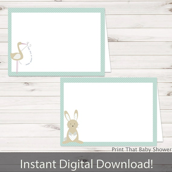 baby shower food tent labels blue bunny baby shower printable