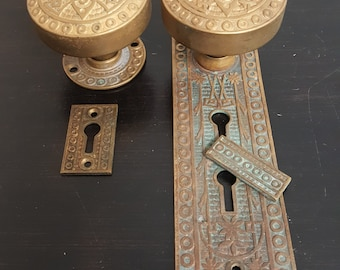 Antique Decorative Doorknob Entry Set 530642