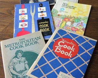 Metropolitan Cook Book Collection Vintage