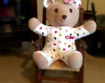 Keepsake Memory Teddy Bear
