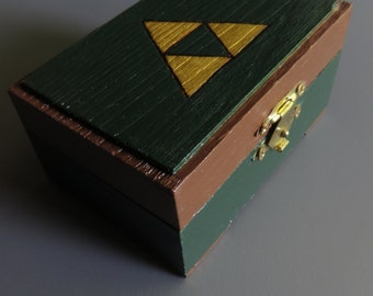 Legend of Zelda Box with Two Rupees