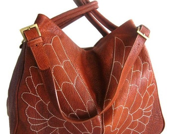 Wings Leather Boxbag Limited Edition
