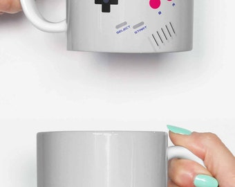 Nintendo mug etsy for Classic housewarming gifts