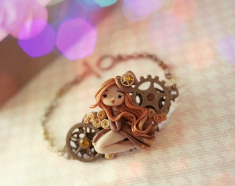 Bracelet Steampunk (model Evelyn)