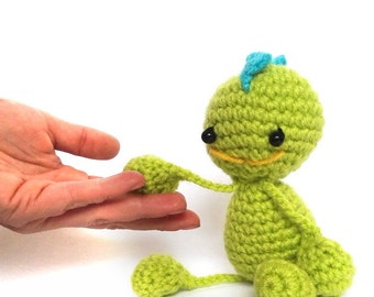 Crochet Amigurumi Dragon - Crochet Dragon - Dragon Doll - Crochet Dragon - Amigurumi Animal - Crochet Animal - Soft toy