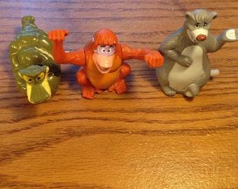 Disney's Vintage Jungle Book wind ups set of 3