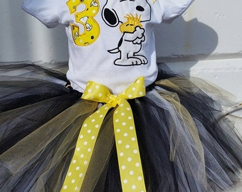 snoopy tutu set any number you want