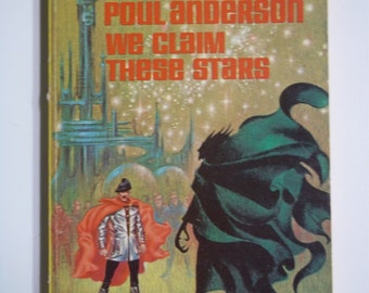 We Claim These Stars by Poul Anderson ACE Books G-697 (1959) Vintage Sci-Fi Paperback