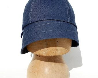 Designer cap  womens denim hat  ©ZUTkiki hat