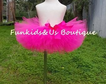 Hot Pink  Baby Tutu - Hot Pink  Newborn, toddler, girl Tutu- Birthday,photoprop,special occassion