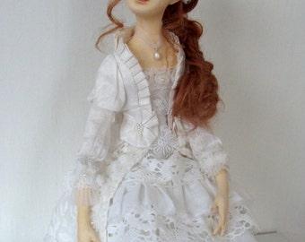 Artist doll, by Elena Fesler, skulpt. org