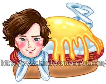 Eggs Benedict Cumberbatch