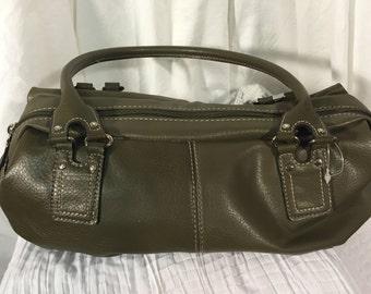 Tommy Hilfiger Purse Handbag Olive Double Straps
