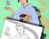 Kimono Elegance Adult Col...