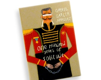 One Hundred Years of Solitude by Gabriel Garcia Marquez. Day Of The Dead Interior Lining