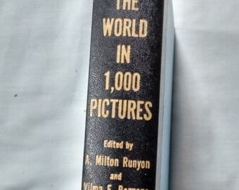 Around The World in 1,000 Pictures vintage book