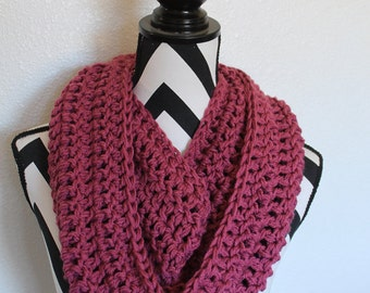 Mixed Berry Infinity Scarf
