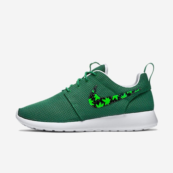 Custom All Stars >> Custom Nike Roshe Cannabis cannabis weed 420 design