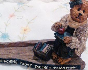 Boyd's bears Teacher gift back to school teacher's bears bear gift childs teacher teacher card holder