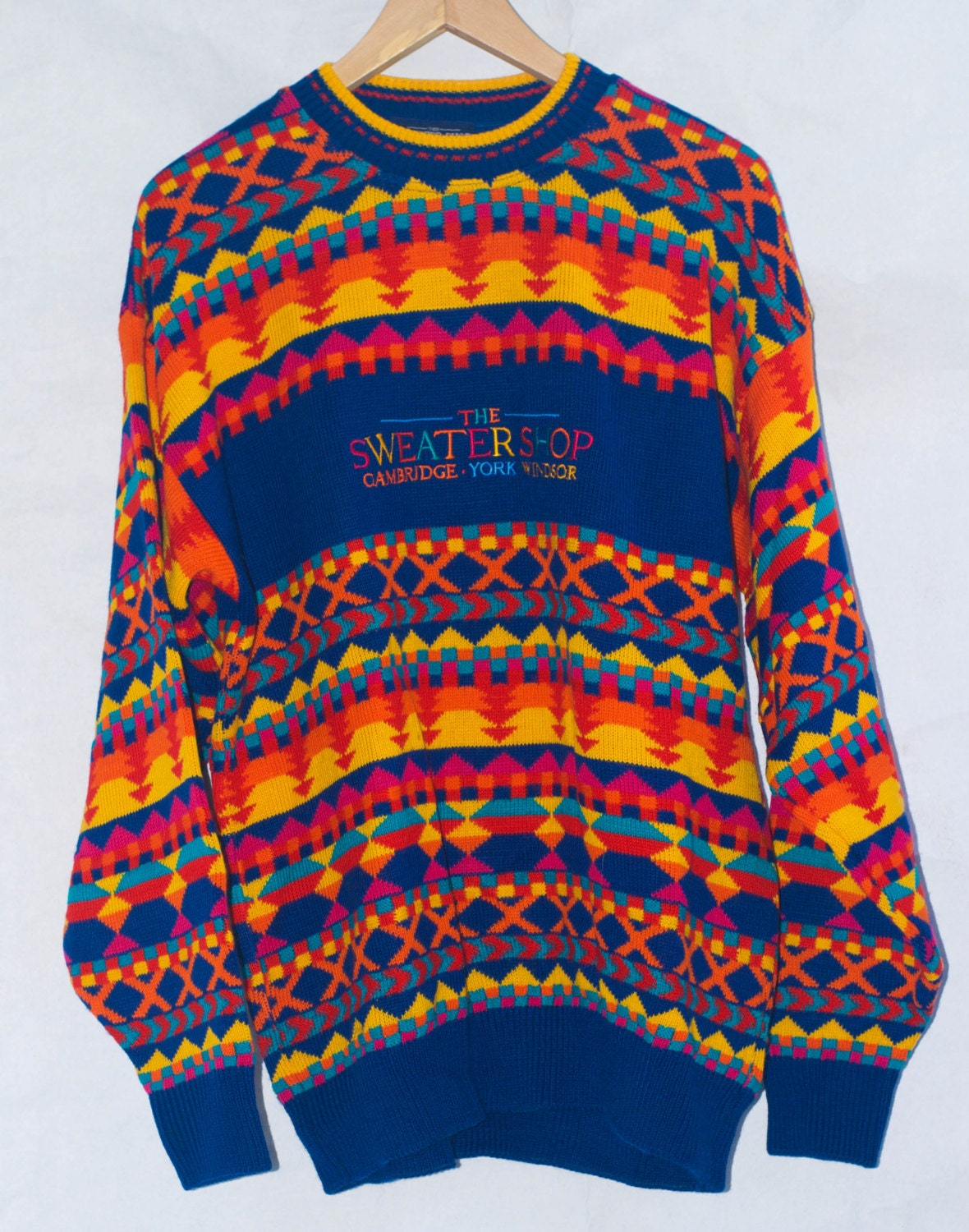 Vintage 90's The Sweater Shop Jumper/ Sweater. Made in