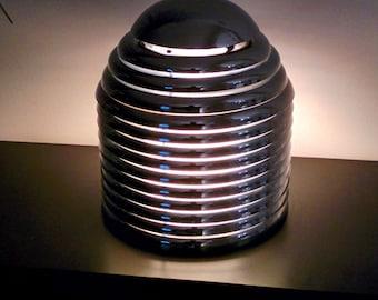 JAPANESE  KAZUO MOTOZOWA designed  chrome table lamp 'Saturno' 1960s , Germany
