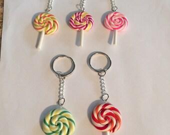 Lollipop Keychains!!