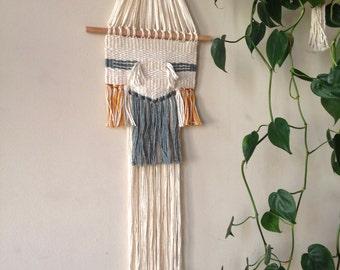 Desert Lichen Hand Woven Wall Hanging
