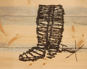 3D Barbed Wire boot basket