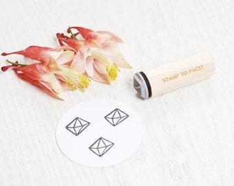 Crystal Gem - Mini Rubber Stamp