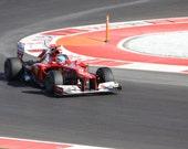 Austin Inaugural Formula 1 Grand Prix, Ferrari, Fine Photography
