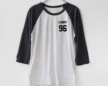 Taylor Caniff Shirt Baseball Raglan Shirt Tee TShirt