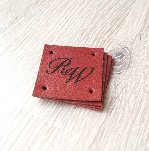 Leather Sewing Labels Custom Labels Personalized Leather
