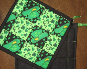 Pot Holders - St. Patrick's Day