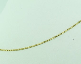 Vintage 14 K gold chain necklace