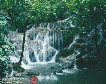 Paradise - Jungle Waterfalls - Palenque, Mexico - Nature Photography