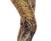 Ancient Map Leggings, Game Of Thrones Clothing, Yellow Leggings, Printed Leggings, Women's Printed Leggings, Vintage Map Yoga Leggings