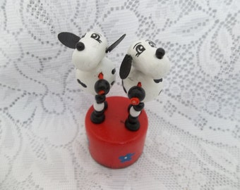 Push Up Toy, Dancing Dogs, Push up dancing dogs, push up puppet,
