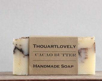 Organic Cacao Butter| Handmade Soap