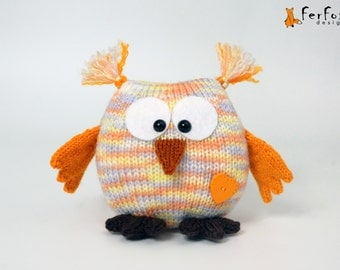 Stuffed owl toy Plush owl doll Cute owl toy Plushie owl Softie owl figurine Gift for owl lover Plush owlet Owl decor Owl gift