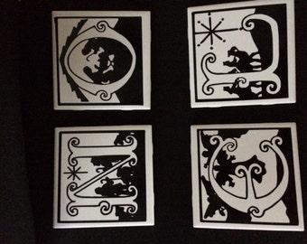 NOEL coasters