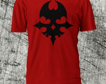 Player Pin Tshirt - Red - The World Ends With You