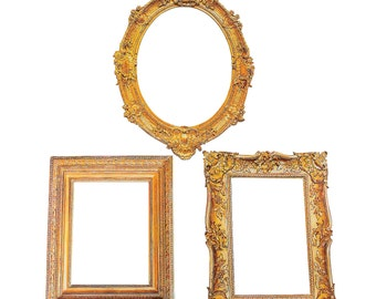 Parisian Picture Frame Photo props /  Photo Booth / Photo Props / Party Cutouts