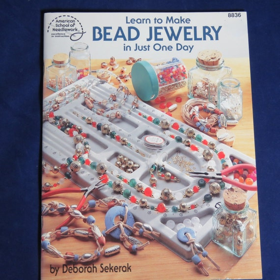 Learn to make bead jewelry how to book learn in one day for Learn to draw jewelry