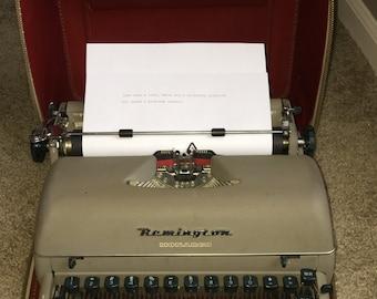 Vintage Remington Rand Monarch Typewriter