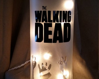 The Walking Dead Light/decor/decorations/Rick/Zombie/lamp